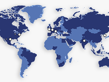Superior Tube's sales offices are around the world.