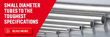Small diameter metal tubes by Superior Tube - mobile
