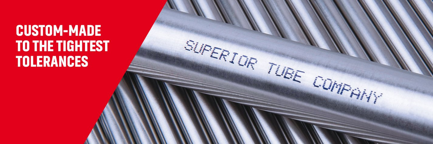 High precision metal tubes by Superior Tube