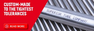 High precision metal tubes by Superior Tube - mobile