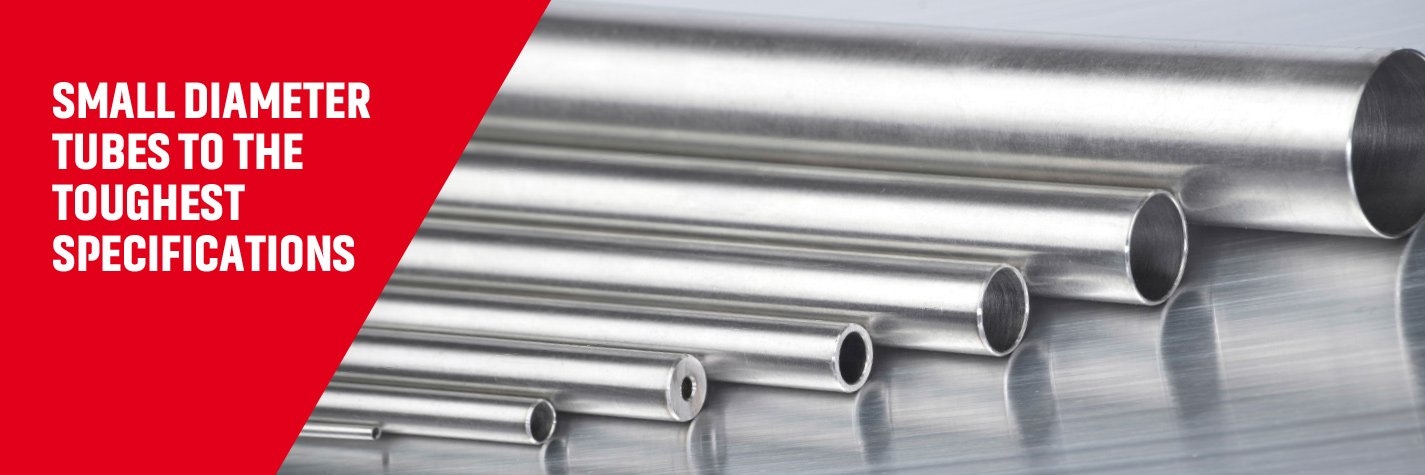 Small diameter metal tubes by Superior Tube