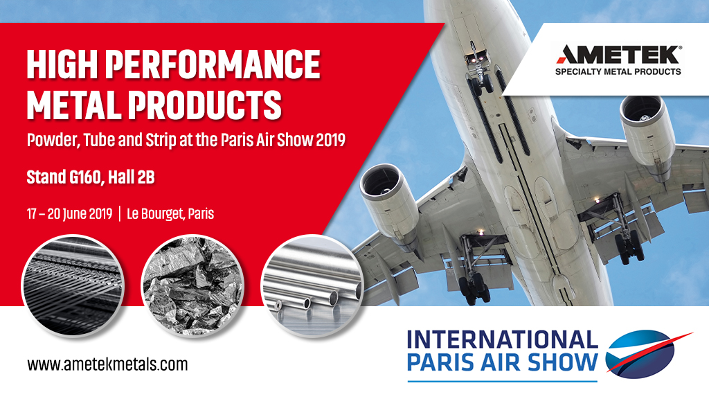 AMETEK SMP at the Paris Air Show 2019