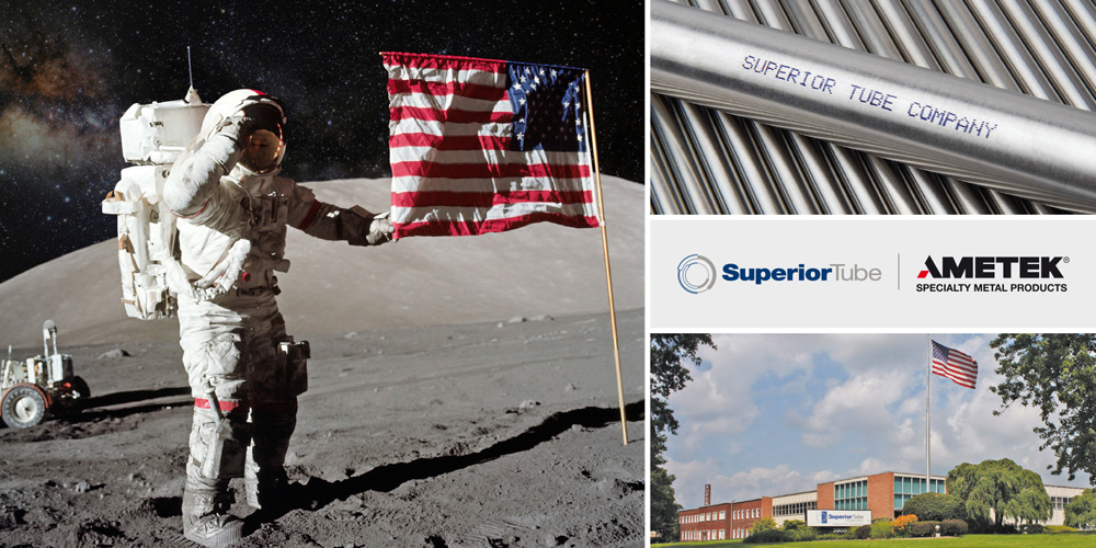 Superior Tube has pioneered the use of new tubing materials technologies for space applications